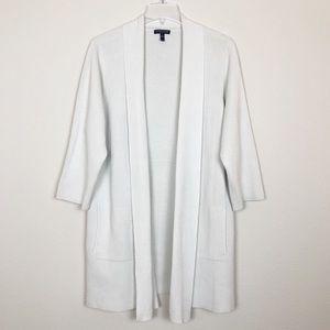 Eileen Fisher Woman Beige Long Cardigan Sweater 1X